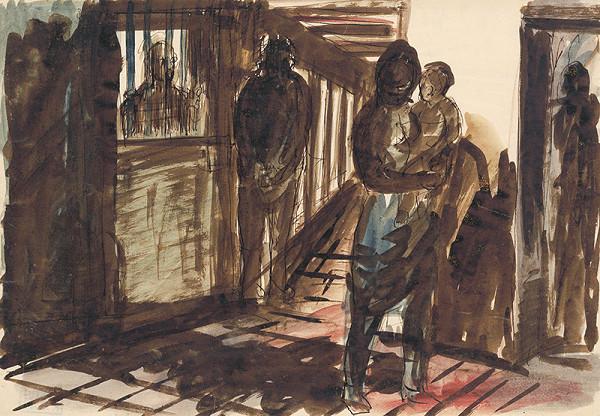 Ján Želibský – Návšteva vo väznici