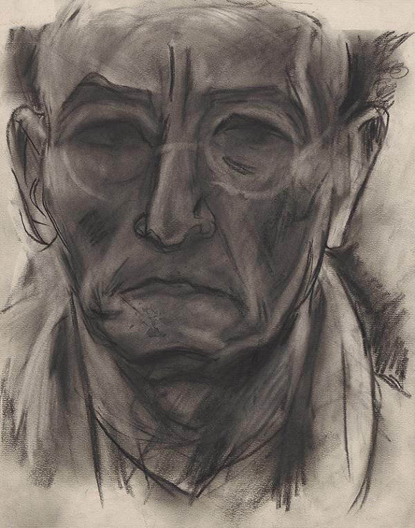 Bertalan Pór – Autoportrét II.