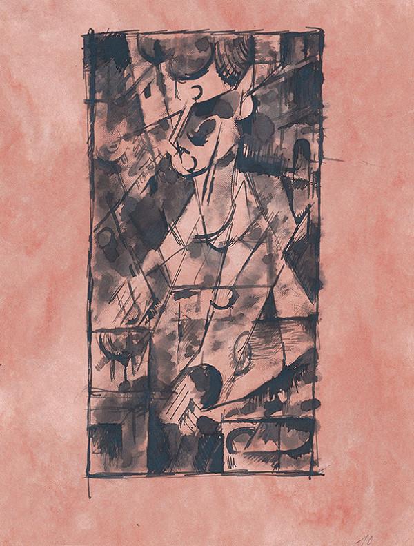 Ján Želibský – Portrét muža