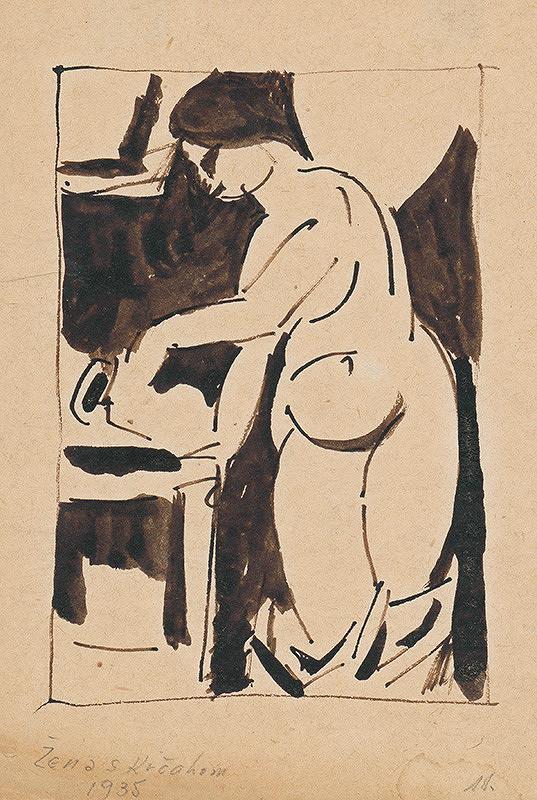 Ján Želibský – Žena s krčahom