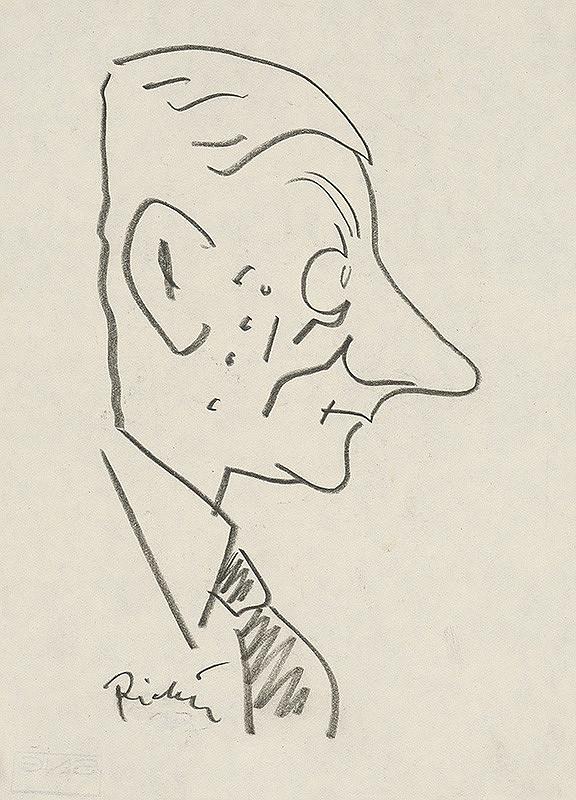 Alexander Richter – Karikatúra A. Kutala