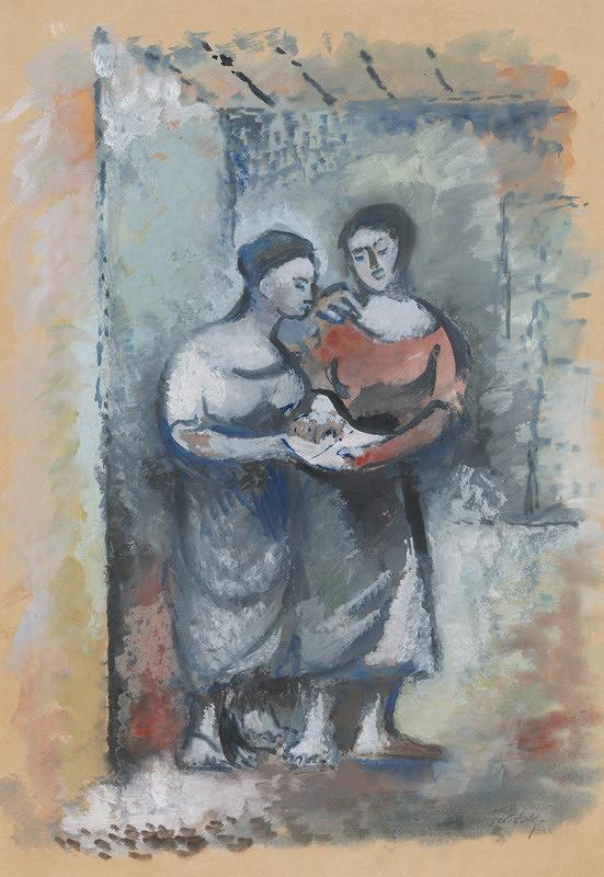 Ján Želibský - Dve ženy