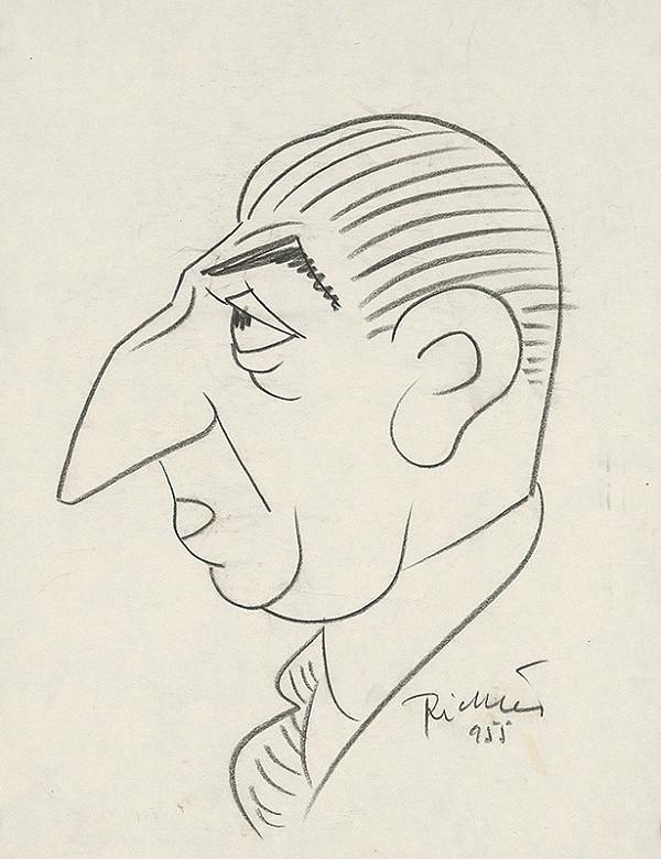 Alexander Richter – Karikatúra Pelca