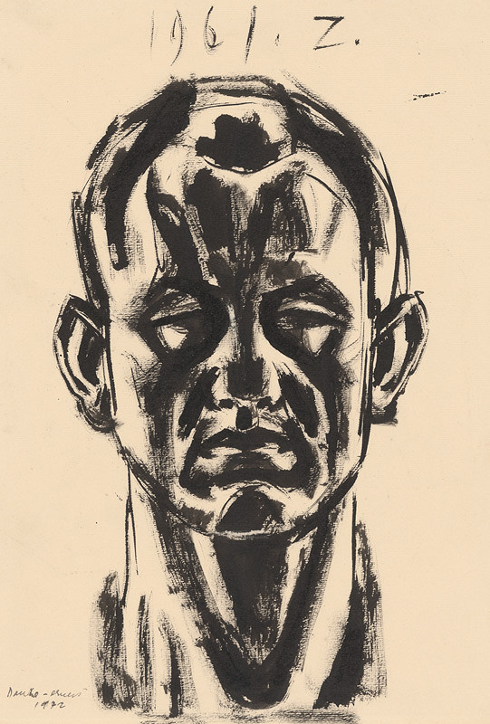 Ernest Zmeták – Štúdia k autoportrétu