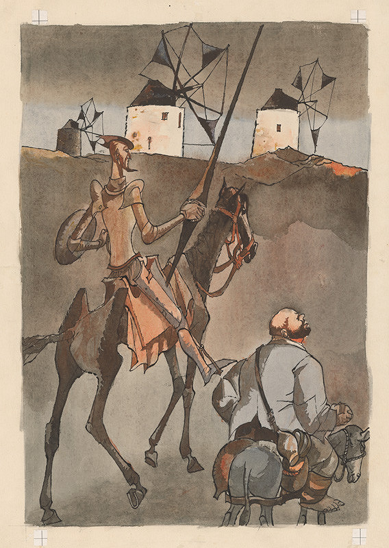 Vincent Hložník - Veterné mlyny na obzore