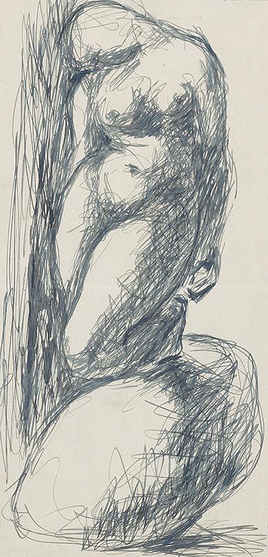 Rudolf Uher – Ženský akt