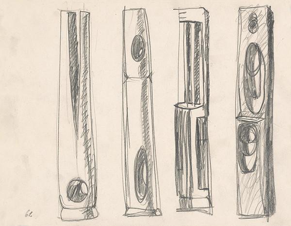 Rudolf Uher - Tvarové štúdie V.