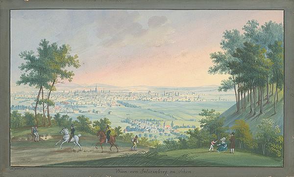 Balthasar Wigand – Pohľad na Viedeň