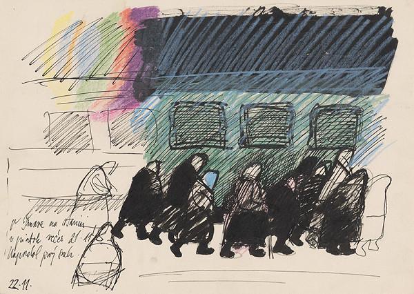 Ľudovít Hološka – V Trnave na stanici