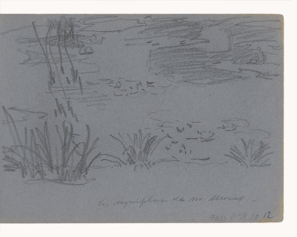 Maximilián Schurmann – Lekná v záhrade Claude Moneta