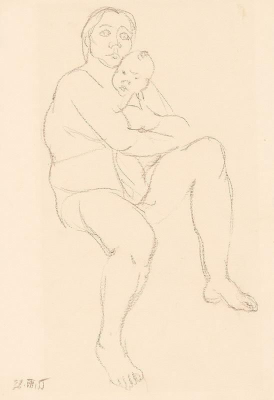 Alexander Trizuljak - Štúdia matky s dieťaťom