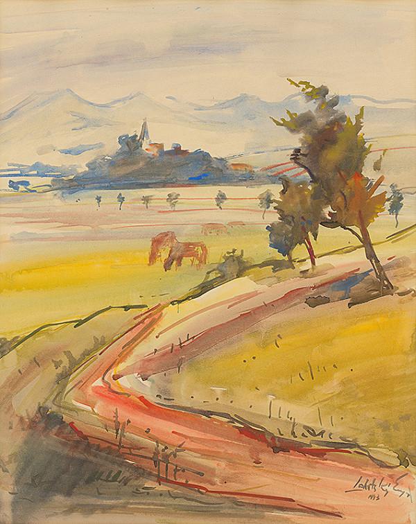 Eugen Lehotský – Krajina 1943