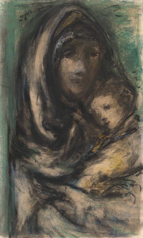 Teodor Tekel – Matka s dieťaťom 1941