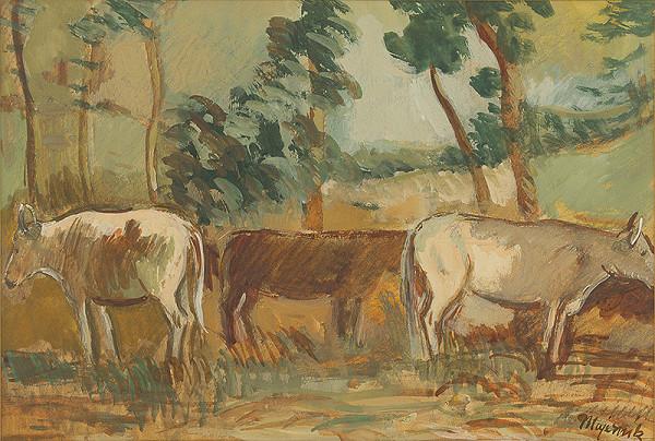Cyprián Majerník - Kravy