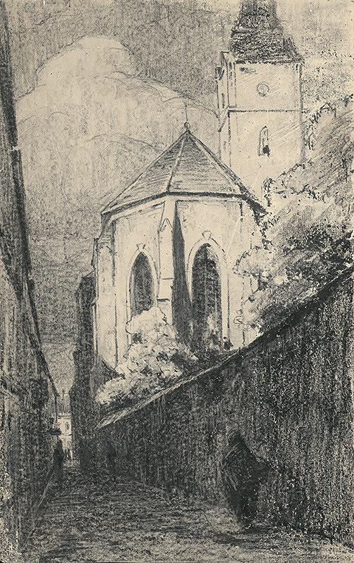 Ľudovít Čordák - Františkánsky kostol v Košiciach