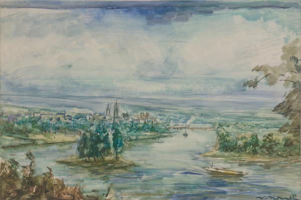 Willi Nowak - Pohľad na mesto