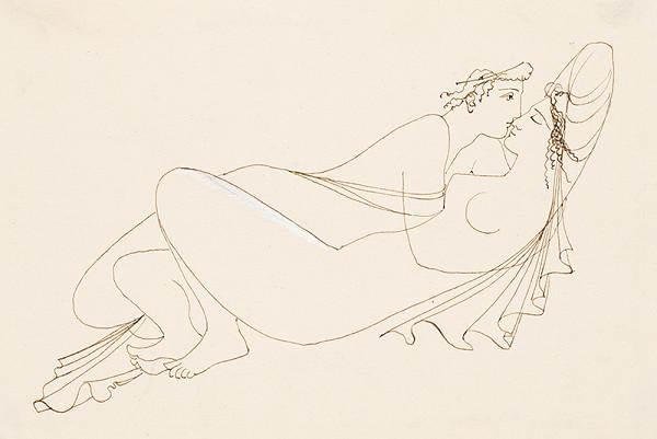 Mária Želibská – Ilustrácia ku knihe Héro a Leander