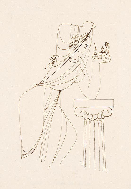 Mária Želibská – Žena s kahancom