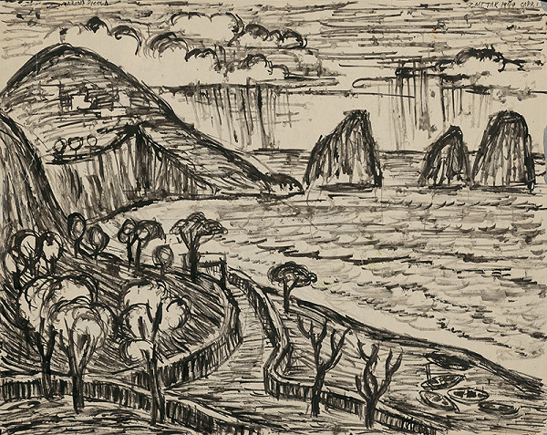 Ernest Zmeták - Pohľad na Faraglioni
