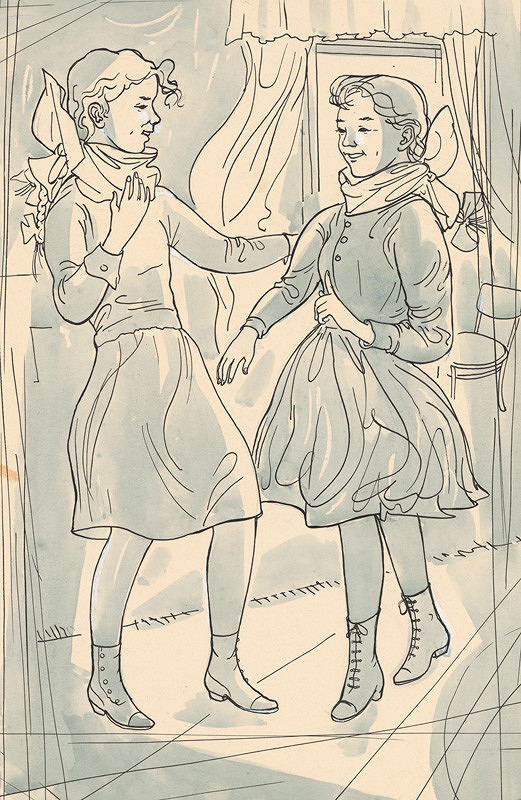 Imrich Weiner-Kráľ – Tancujúce dievčatká