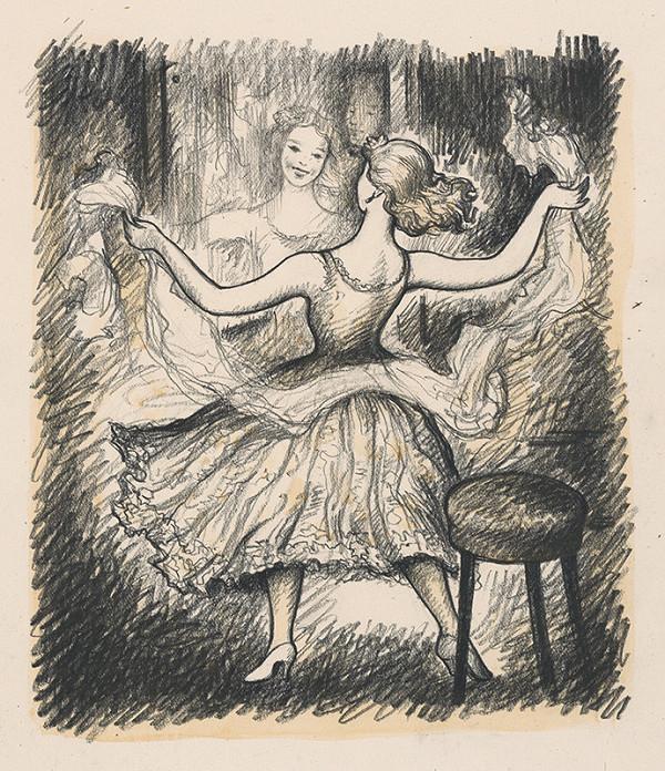 Imrich Weiner-Kráľ - Tancujúce dievča