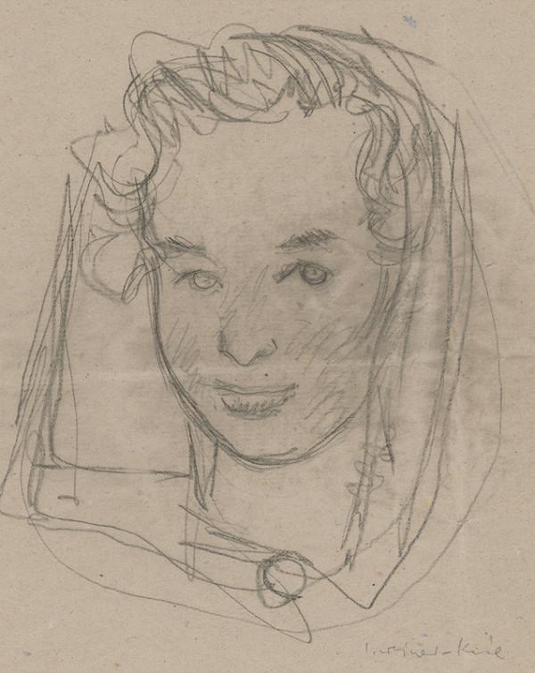 Imrich Weiner-Kráľ - Hlava dievčaťa