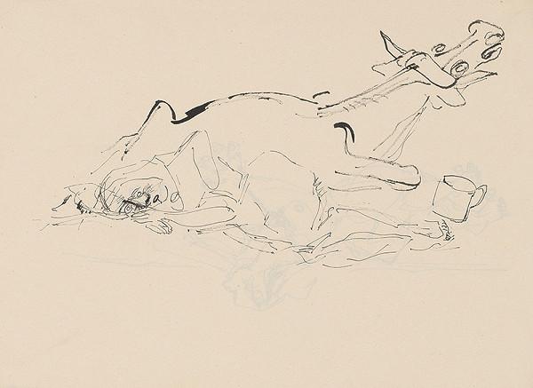 Július Lőrincz - 29. Vojna II. - Mŕtva žena s kravou II.