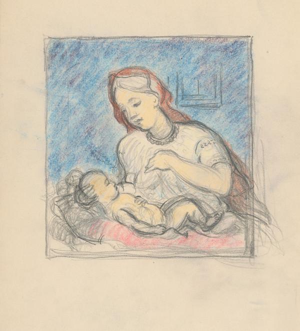 Štefan Polkoráb – Matka s dieťaťom