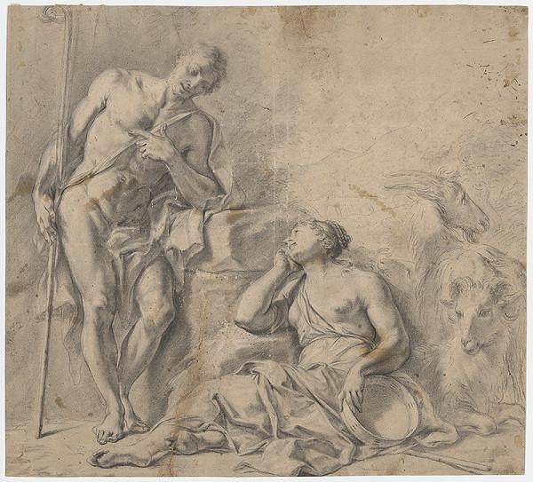 Francúzsky majster zo 17. storočia – Pastierska idyla