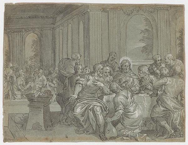 Taliansky majster zo 17. storočia – Posledná večera