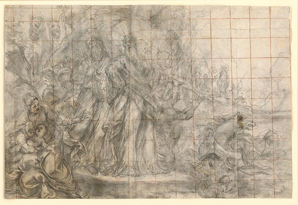 Taliansky majster z 18. storočia, Carlo Maratti – Náboženská scéna