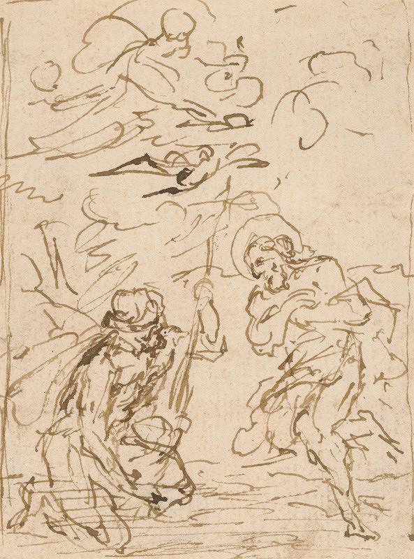 Taliansky majster zo 17. storočia – Krst Kristov