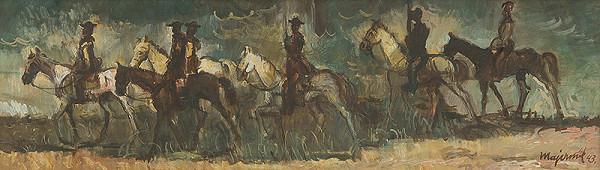 Cyprián Majerník – Jazdci