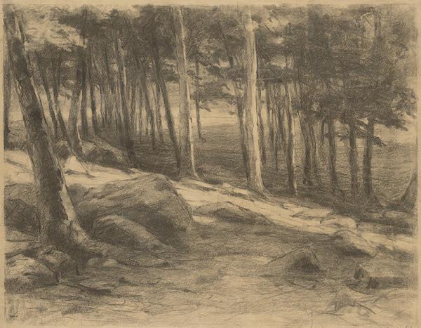 Ľudovít Čordák - Okraj lesa