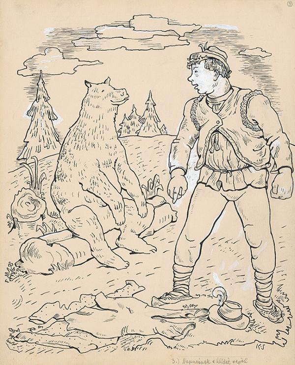 Koloman Sokol - Valach s medveďom