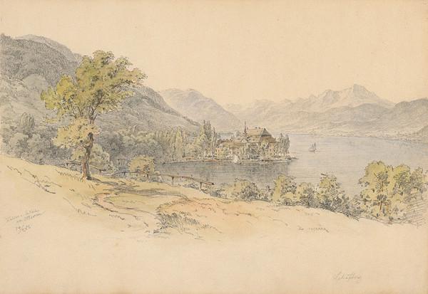 Karol Ľudovít Libay – Pohľad na Kammer pri Walchenskom jazere