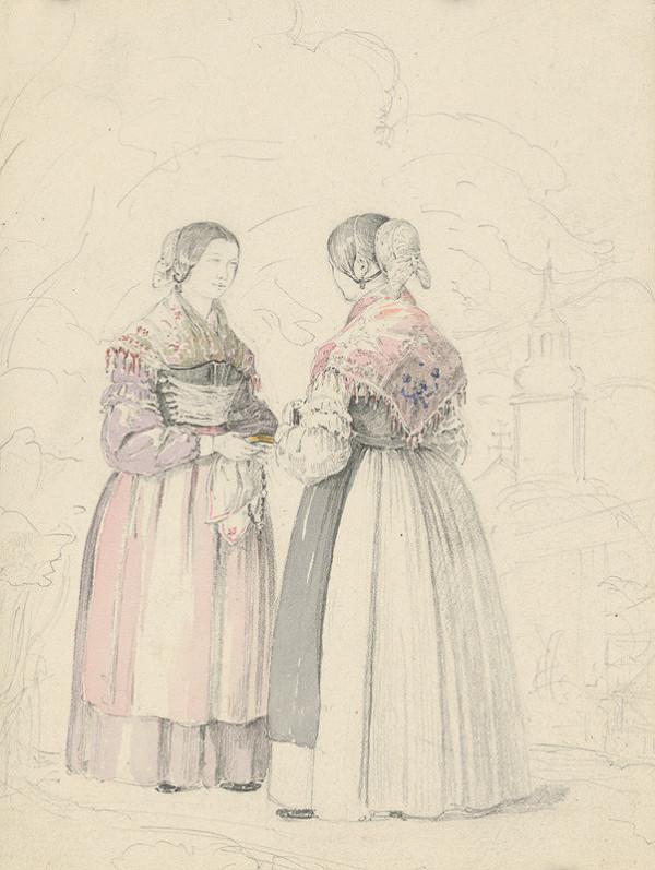 Karol Ľudovít Libay - Dve ženy