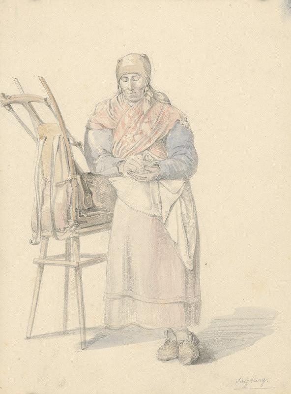 Karol Ľudovít Libay – Vidiecka žena zo Salzburgu