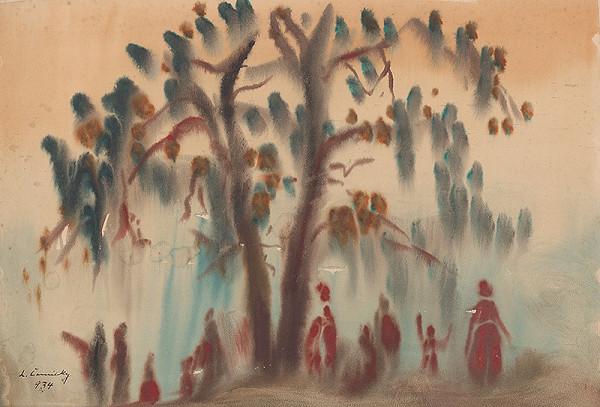 Ladislav Čemický – Pod stromom
