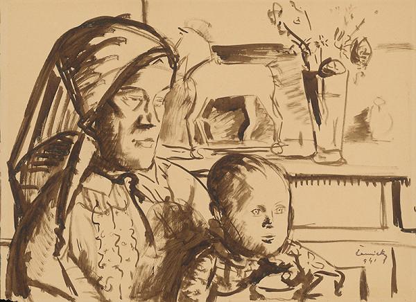 Ladislav Čemický - Matka s dieťaťom