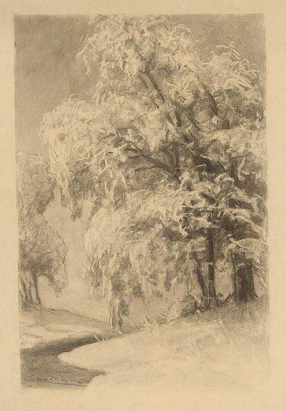Ľudovít Čordák - Stromy v zime
