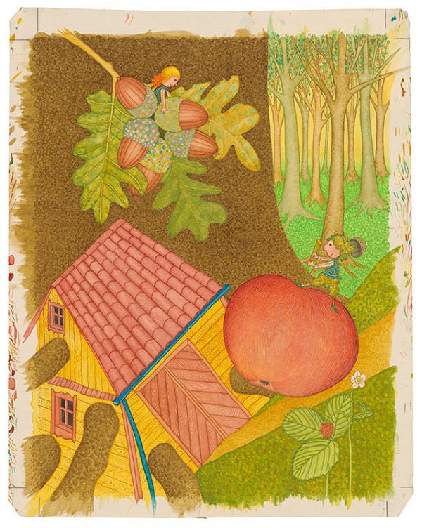 František Blaško - Obrovské jablko