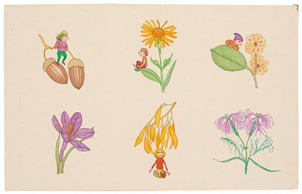 František Blaško - Šesť drobných ilustrácií