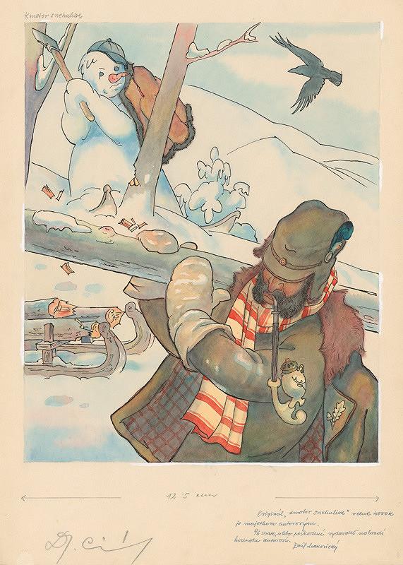 Emil Makovický - Kmotor snehuliak