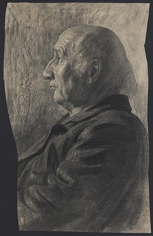Eduard Putra – Portrét muža s lysinou