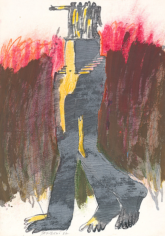 Jozef Jankovič – Kresba 35, 1987