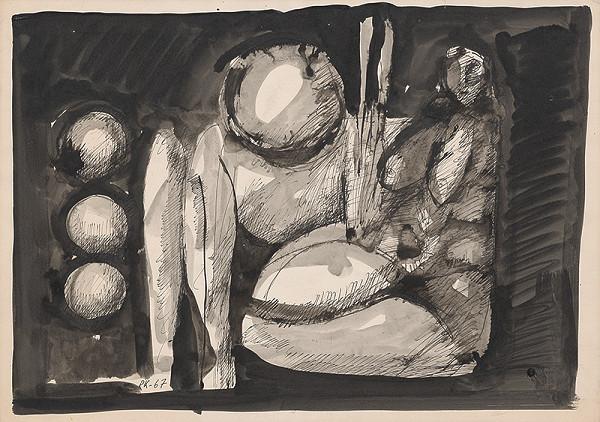 Rudolf Krivoš – Sediaca figúra