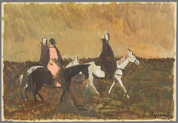 Cyprián Majerník – Traja jazdci