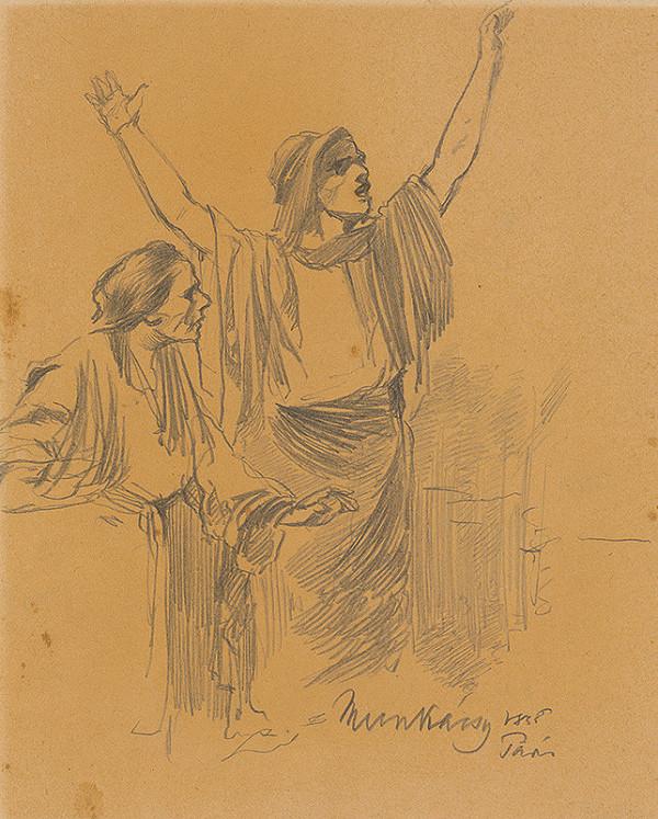 Mihály Munkácsy – Štúdia dvoch žien. K obrazu Kristus pred Pilátom