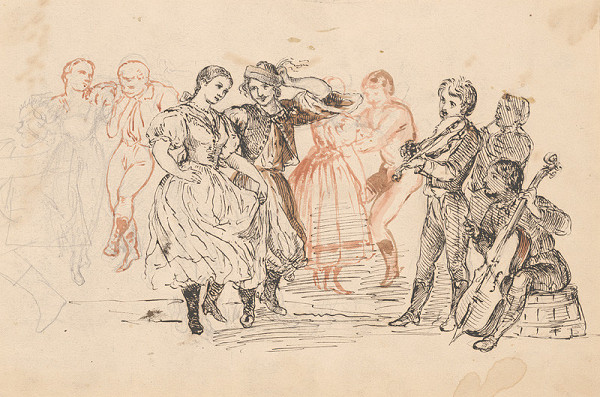 Vojtech Klimkovič – Ľudový tanec